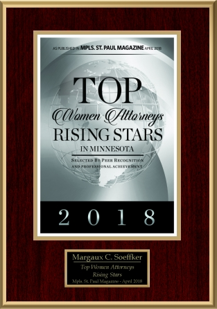 2018 Top Women Attorneys Rising Stars Badge