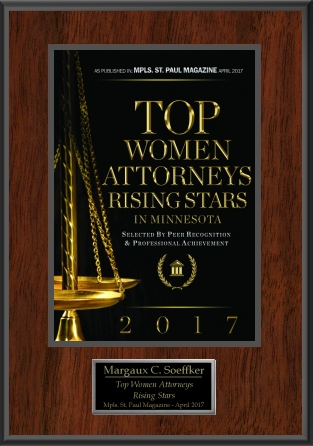 Top 50 rising star women attorneys 2017 Badge