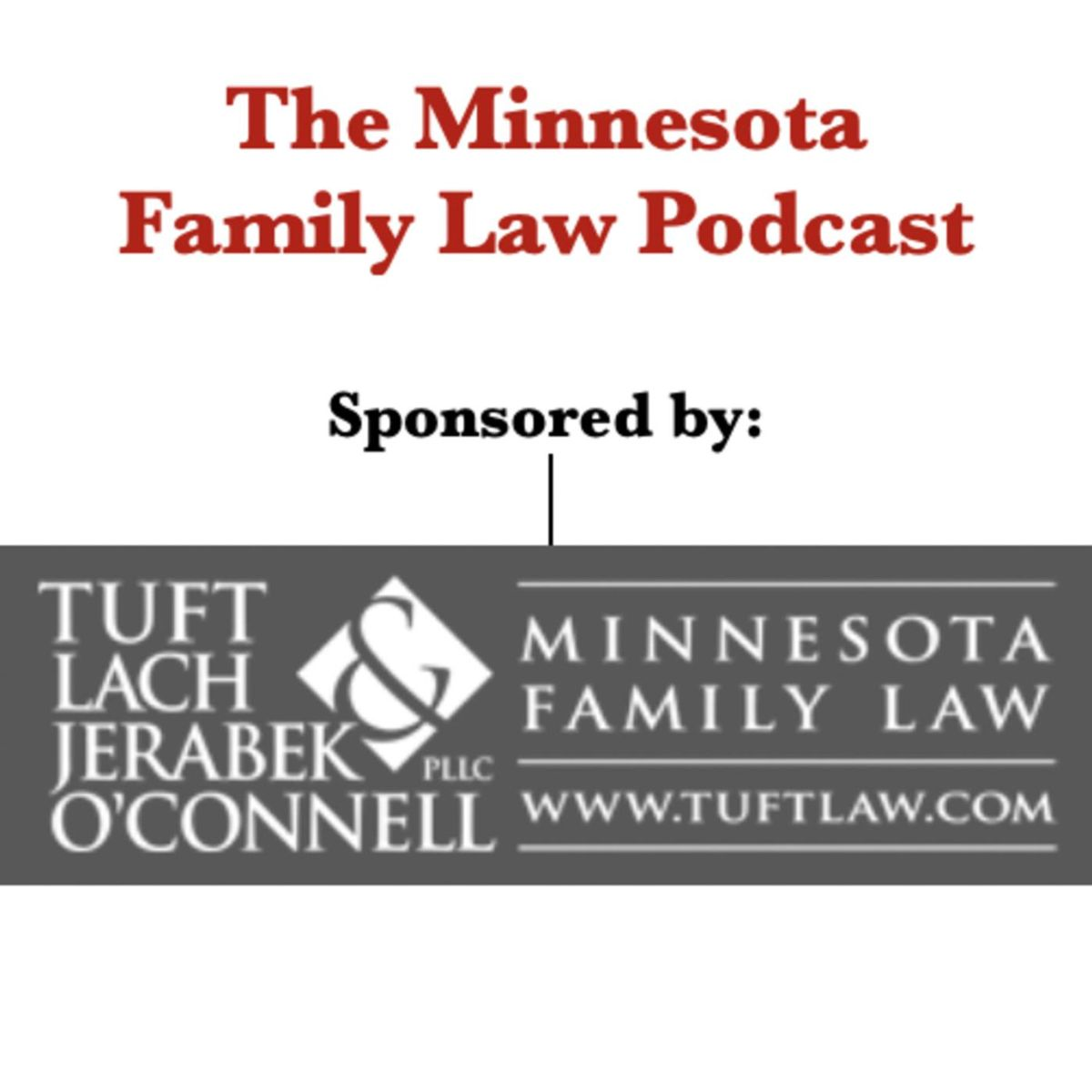 The Minnesota Family Law Podcast logo
